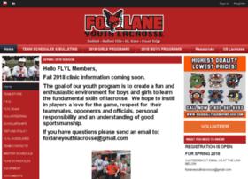 foxlaneyouthlacrosse.com