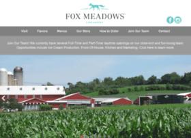 foxmeadowscreamery.com