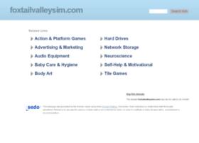 foxtailvalleysim.com