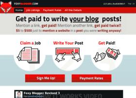 foxyblogger.com