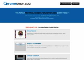 foxyduelacademy.forumotion.com
