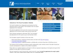 foylefoundation.org.uk