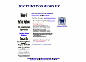 foytrentdogshows.com