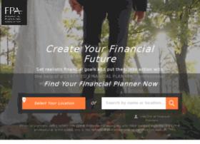 fpaforfinancialplanning.org