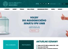 fpv.umb.sk