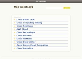 frac-watch.org