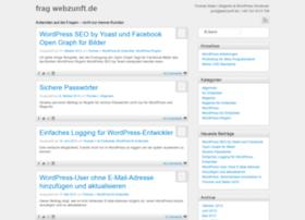 frag.webzunft.de