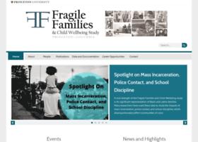 fragilefamilies.princeton.edu