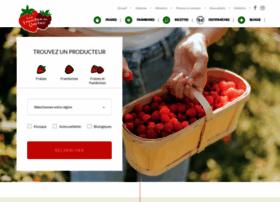 fraisesetframboisesduquebec.com