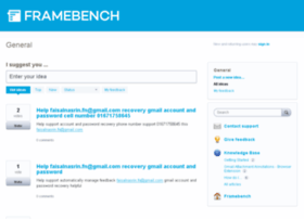 framebench.uservoice.com