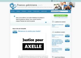 france-petitions.com