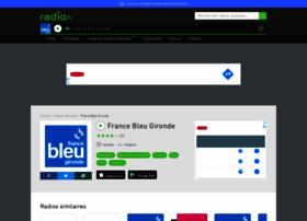 francebleugironde.radio.fr