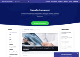 franceenvironnement.com