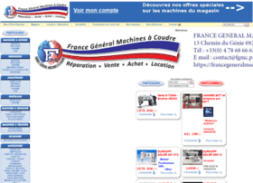 francemachinesacoudre.fr