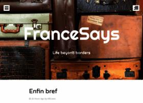 francesays.com