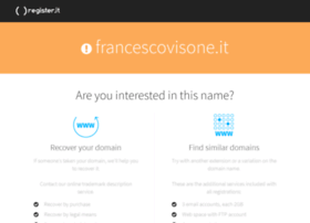 francescovisone.it