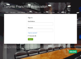 franchise-info.igloocommunities.com