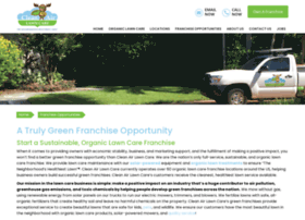 franchise.cleanairlawncare.com