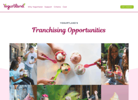 franchise.yogurt-land.com