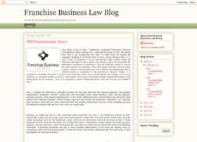 franchisebusinesslawblog.blogspot.in