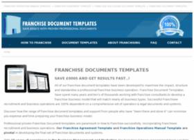 franchisedocumenttemplates.co.uk