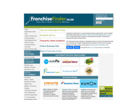 franchisefinder.co.za