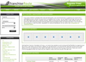 franchiseroute.co.uk