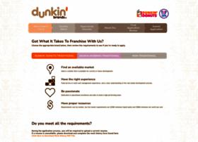 franchisinginformation.dunkinbrands.com