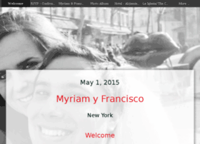 franciscoymyriam.com