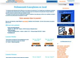 francophones-israel.com
