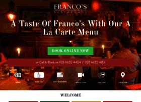 francosrestaurant.co.uk