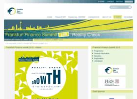 frankfurt-finance-summit.com