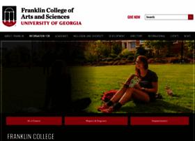 franklin.uga.edu