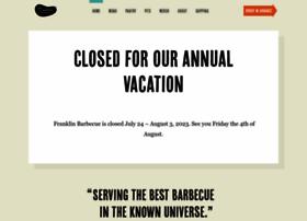 franklinbarbecue.com
