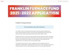 franklinfurnacearchive.submittable.com