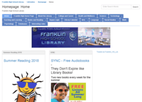 franklinhigh.libguides.com
