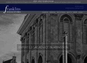 franklins-solicitors.co.uk