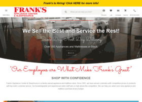franksappliancecenter.com