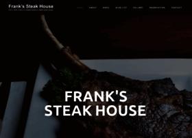 frankssteakhouse.com