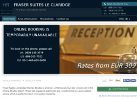 frasersuites-claridge.hotel-rez.com