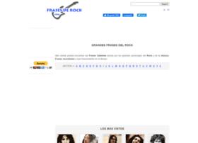 frasesderock.com