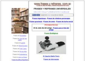 frasesyrefranes.com.ar