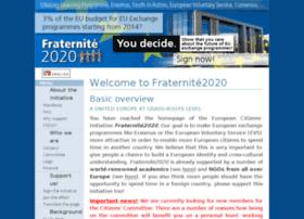fraternite2020.eu
