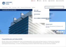 frauenklinik.uk-koeln.de