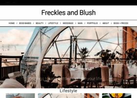 frecklesandblush.com