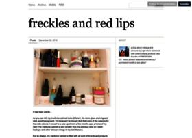 frecklesandredlips.tumblr.com
