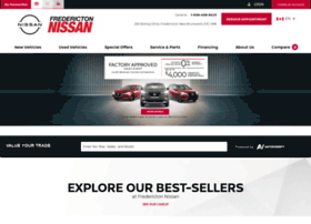 frederictonnissan.com
