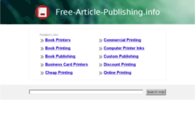 free-article-publishing.info