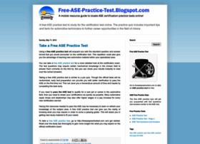 free-ase-practice-test.blogspot.com