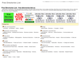 free-directories-list.eu